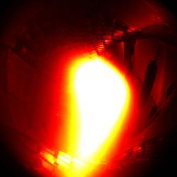 První plazma ve stellarátoru Wendelstein 7-X. Kredit: IPP.