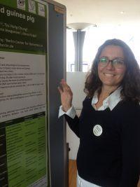 """Alexandra Weyrich: """"Na změnu klimatu reagují savci epigenetickými mechanismy velmi rychle.""""  (Kredit: IZW)"""