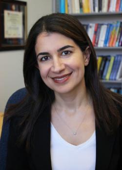 Yasamina Mostofi, vedoucí výzkumného kolektivu na Univerzity of California v Santa Barbara.