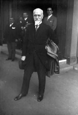 Eleftherios Venizelos, vynikající řecký politik a diplomat v raném 20. století, původem z Kréty, protivníky zvaný Úskočný Kréťan. Kredit: Wikimedia Commons.