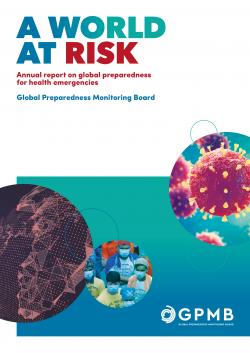 """První setkání panelu """"Global Preparedness Monitoring Board"""". Kredit: WHO."""