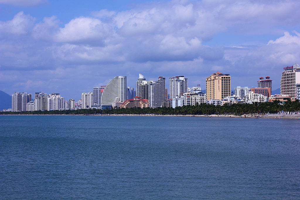 San-ja, ostrov Chaj-nan. Kredit: Zhangmoon618.