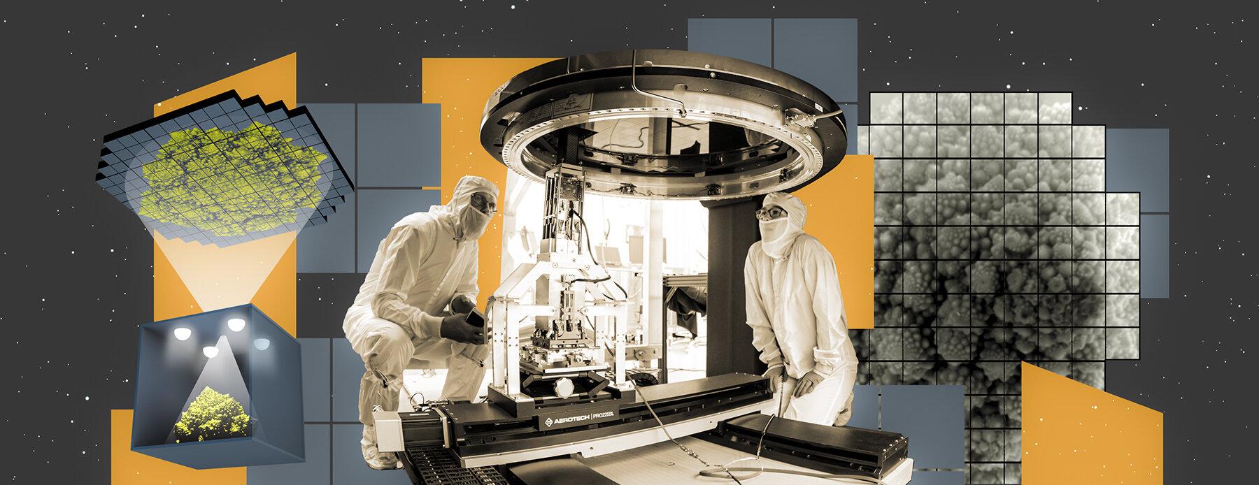 První snímky největší digitální kamery světa. Kredit: Greg Stewart/SLAC National Accelerator Laboratory.