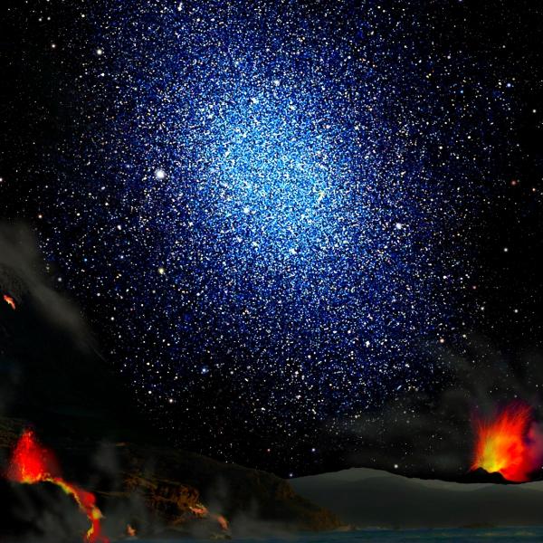 Je vesmír plný stealth temné hmoty? Kredit: LLNL.