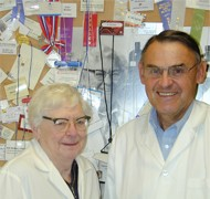 Dr. Edith G. McGeer a  Dr. Patrick L. McGeer. Aurin Biotech, Vancouver.