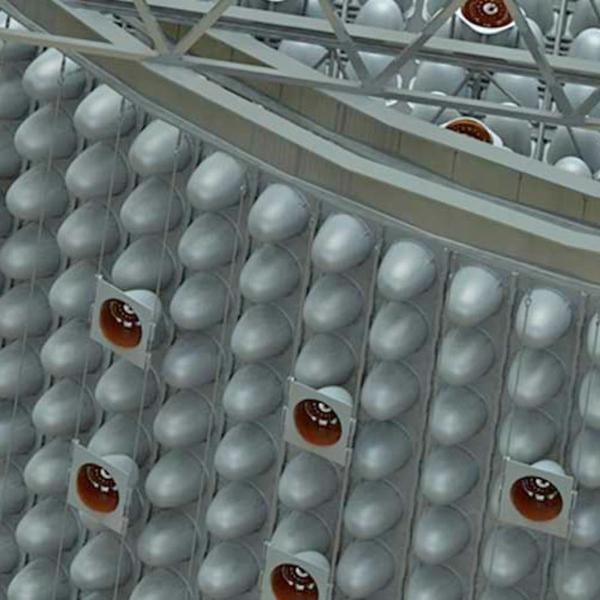 Jedna zmožných konfigurací detektoru WATCHMAN. Kredit: LLNL.