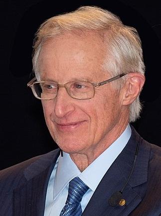 William Dawbney Nordhaus, americký ekonom, profeor na Yale University, nobelista 2018. Kredit: Bengt Nyman, Vaxholm, Sweden.