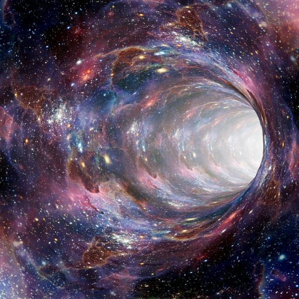 Najdeme červí díry podle jejich stínu? Kredit: CC0 Creative Commons.