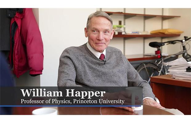William Happer z Princetonské university