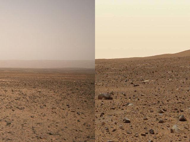 Zeme, nebo Mars