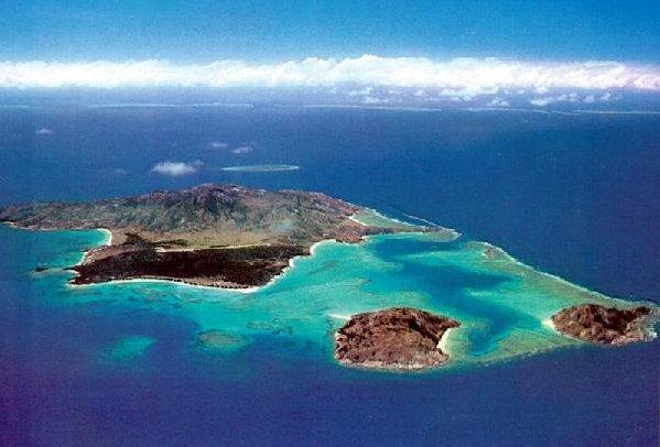 Lizard Island na Velkém bradlovém útesu.