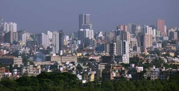 Podobně je na tom i bangladéšská metropole Dháka.