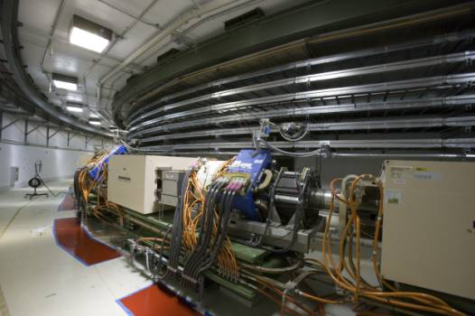 Prstenec urychlovače protonů