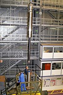 Instalace kapalného terče MEGAPIE