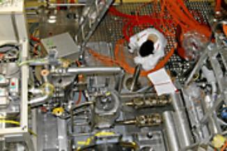 Plnění terče MEGAPIE eutektikem složeným z olova a bismutu