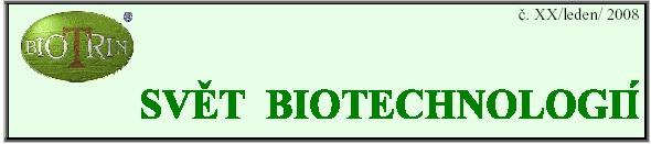 svět biotechnologií