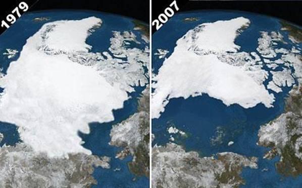 Arktický led