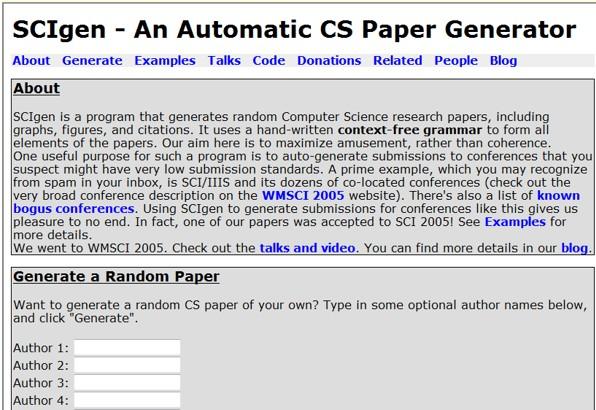 scientific research paper generator