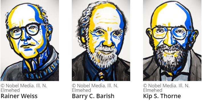 Nobelisté za fyziku 2017